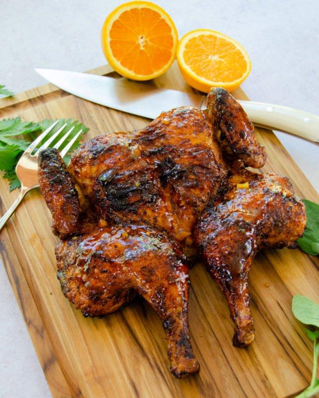 Membuat Ayam Panggang Orange Spiced Chicken