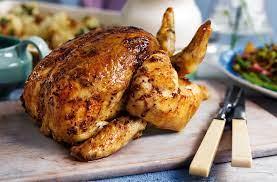 Roast chicken Masakan Dari Western yang Menggunakan Oalahan Daging Ayam