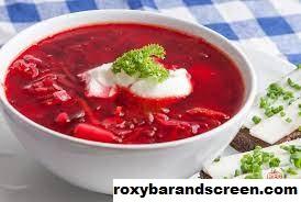 Sup Borscht makanan Khas Dari Rusia Yang Terkenal